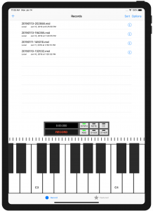 MIDI Recorder iPad